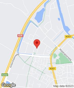Locatie Autobedrijf Jos Bouw  op kaart