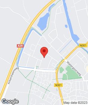 Locatie M.E. Autoservice op kaart