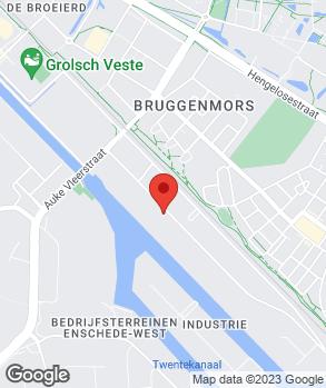 Locatie APK Garage Enschede op kaart