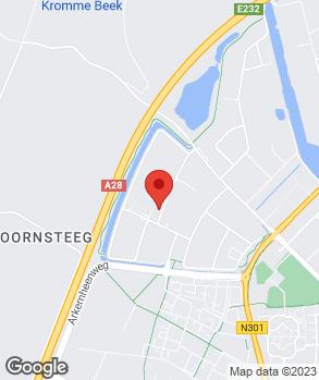 Locatie Autobedrijf H. van de Kraats op kaart