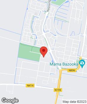 Locatie ABC Autobandencentrum Bunschoten-Spakenburg B.V. op kaart
