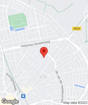 Locatie E.C. Jonkhart op kaart