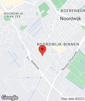 Locatie W.J.M. Broekhof op kaart