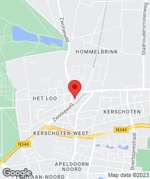 Locatie H. Barmentloo op kaart