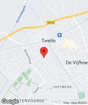 Locatie Autobedrijf Spitholt op kaart