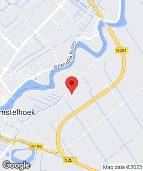 Locatie A.J. Huussen op kaart
