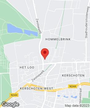 Locatie Autobedrijf Gerritsen op kaart
