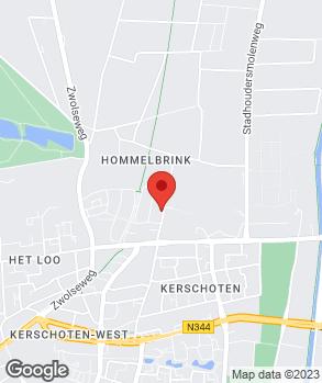 Locatie V.O.F. Handelsonderneming Van Dusschoten op kaart