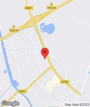 Locatie Ekris Nijkerk op kaart