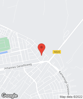 Locatie Handelsonderneming R. Hekman op kaart