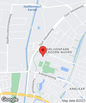 Locatie Vaartland.nl Apeldoorn op kaart