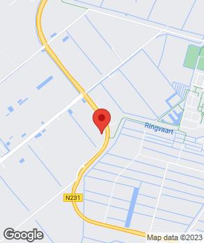 Locatie Auto Service Center van den Berg B.V. op kaart