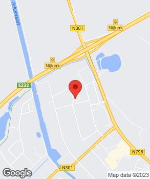 Locatie Evobus Nederland B.V. op kaart