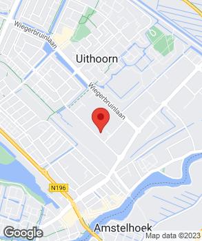 Locatie Autogarage Uithoorn op kaart