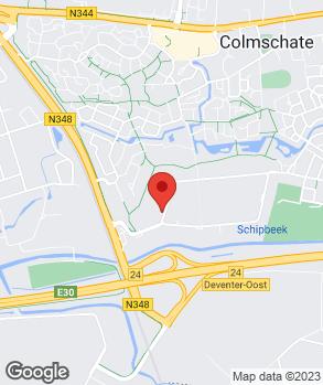 Locatie Skoda Morrenhof Deventer B.V. op kaart