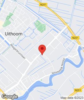 Locatie A.J. Hartog Auto's op kaart