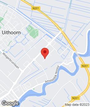 Locatie Garage De Vetten-Thermobiel op kaart