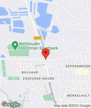 Locatie Autobedrijf Gebroeders Sprakel op kaart