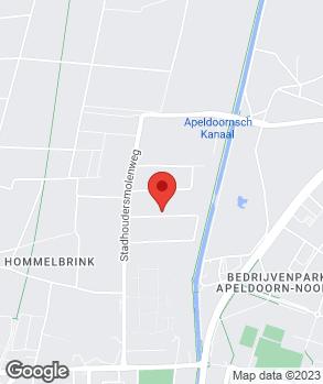 Locatie Motorvoertuigen Techniek Apeldoorn op kaart