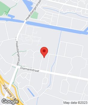 Locatie R. Bouman op kaart