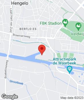 Locatie H. Baas op kaart