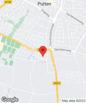 Locatie Garage Van Veenhuisen B.V. op kaart
