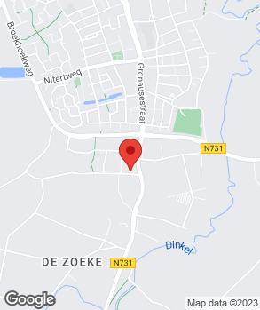 Locatie Andre Bakker Auto's op kaart