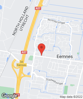 Locatie Automobielbedrijf Koot Eemnes op kaart