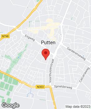 Locatie Dokter Technics op kaart
