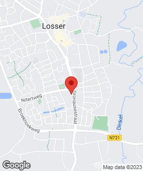 Locatie Automobielbedrijf Schorfhaar B.V. op kaart