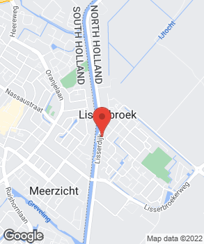 Locatie Autobedrijf Van der Voorn op kaart