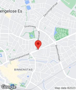Locatie Autohandel Ekkelkamp op kaart