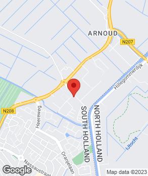 Locatie ABS Brouwer Lisse op kaart