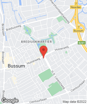 Locatie Stam Bussum op kaart