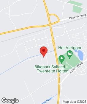 Locatie Jan Eshuis Auto's B.V. op kaart