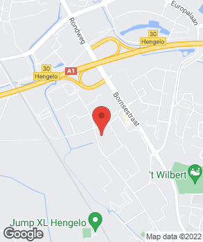 Locatie Munsterhuis Hengelo op kaart