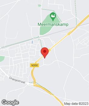 Locatie Autobedrijf Paalman op kaart