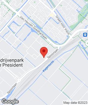 Locatie E-MAX Transmissie op kaart