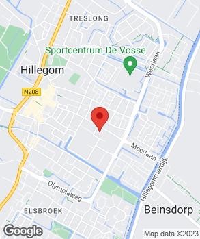 Locatie Auto KC Meerlaan op kaart
