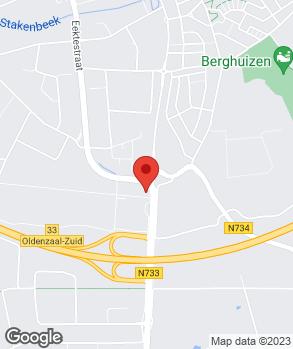 Locatie Hyundai Peterman B.V. op kaart
