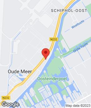 Locatie A.P.K. Schiphol-Rijk op kaart