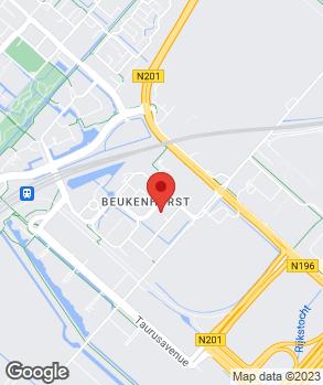 Locatie ASN Autoschade Serv. Fritzsche Amsterdam B.V. op kaart