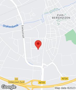 Locatie Garagebedrijf M.A. Olde Scholtenhuis op kaart