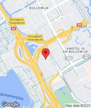 Locatie JAMES Autoservice Amsterdam Zuidoost op kaart