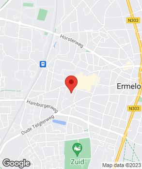 Locatie Autobedrijf Gert van den Berg V.O.F. op kaart