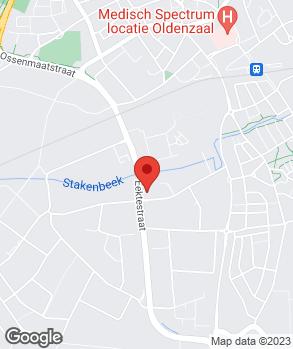 Locatie Huiskes-Kokkeler Automobielbedrijven B.V. op kaart