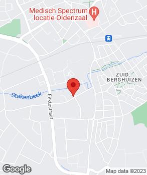 Locatie Rolling Dutchmen op kaart