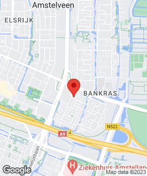 Locatie Autobedrijf Nieuwendijk Amstelveen op kaart