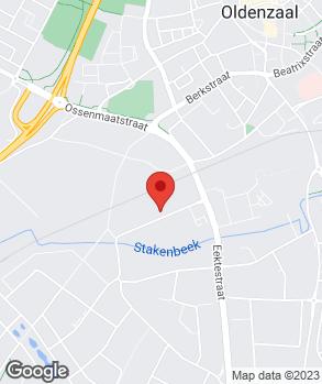 Locatie budgetservice.nl op kaart