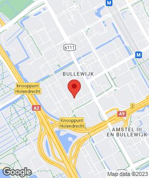 Locatie Euromaster Amsterdam op kaart
